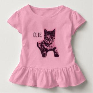 Cute Little Cat Kitten Kitty Pet Toddler T-Shirt