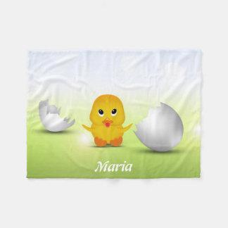 Cute Little Chick - Kids Fleece Blanket
