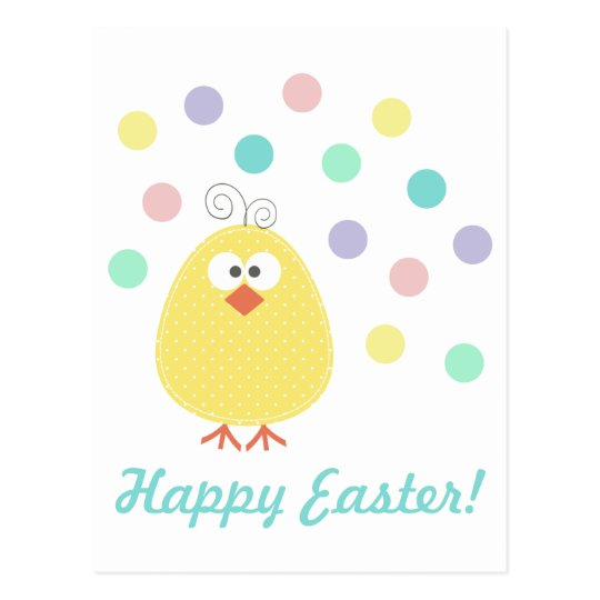 Cute Little Chickie Easter Postcard