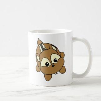 Cute Little Chipmunk Critter Basic White Mug