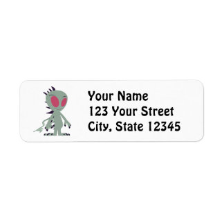 Cute little Chupacabra Return Address Label