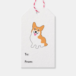 Cute Little Corgi Gift Tags