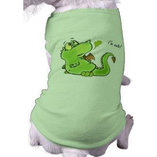 Cute little dragon pet shirt