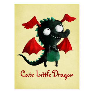 Cute Little Dragon Postcard