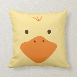 Cute Little Ducky Face Throw Cushions