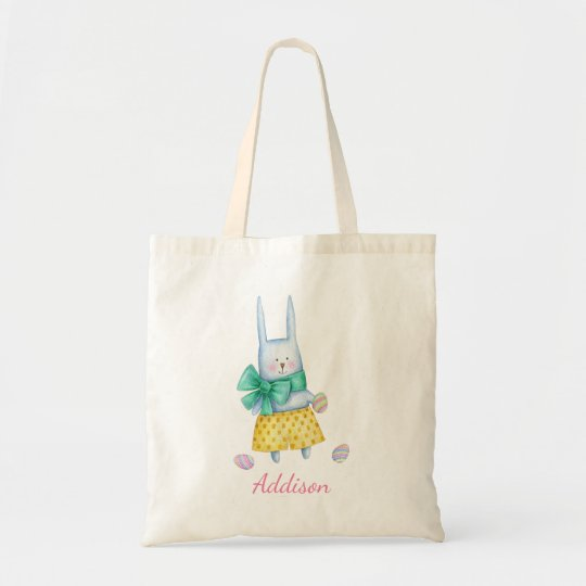 Cute Little Easter Bunny | Personalised Tote