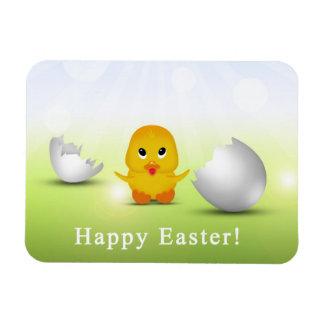 Cute Little Easter Chick - Flexible Magnet