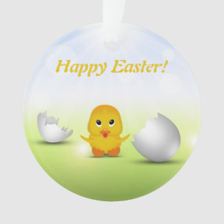 Cute Little Easter Chick - Ornament