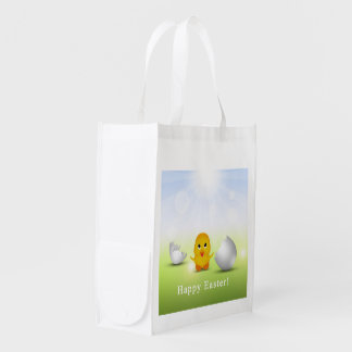 Cute Little Easter Chick - Reusable Bag Market Totes