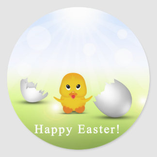 Cute Little Easter Chick - Sticker
