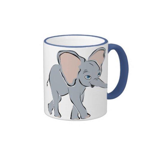 Cute Little Elephant Coffee Mug