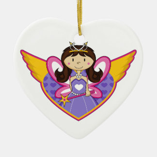 Cute Little Enchanted Princess Ornament