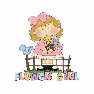 Cute Little Flower Girl Cut Out