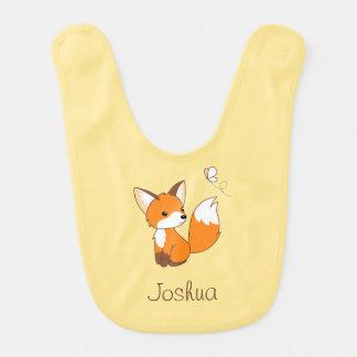 Cute Little Fox Bibs