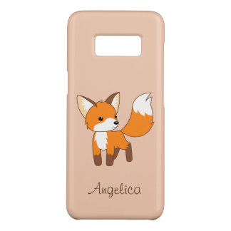 Cute Little Fox Case-Mate Samsung Galaxy S8 Case