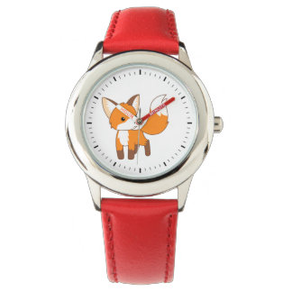 Cute Little Fox Wrist Watch