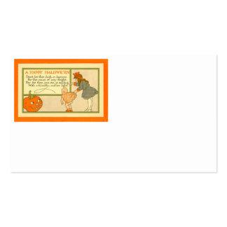 Cute Little Girl Baby Jack O Lantern Pumpkin Pack Of Standard Business Cards