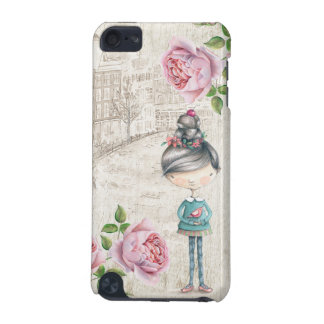 Cute little Girl in a old Town iPod Touch (5th Generation) Case