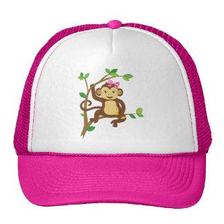 Cute Little Girl Monkey Cap