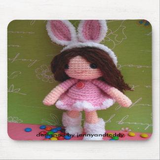 Cute little girl mousepads