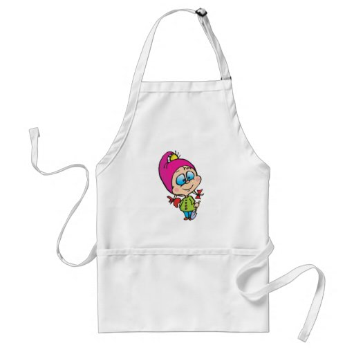 cute little gnome apron