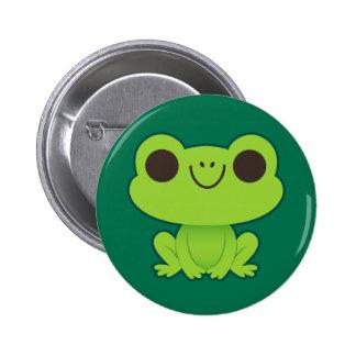 Cute Little Green Frog Pin
