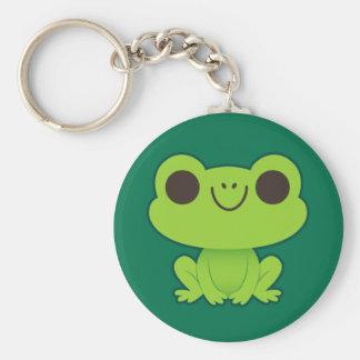 Cute Little Green Frog Keychain
