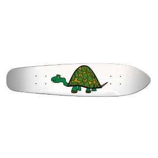 Cute little green turtle skate deck