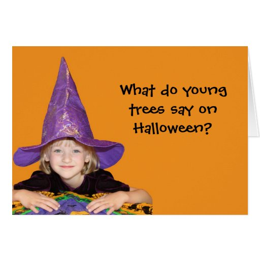 Cute Little Halloween Witch Greeting Cards
