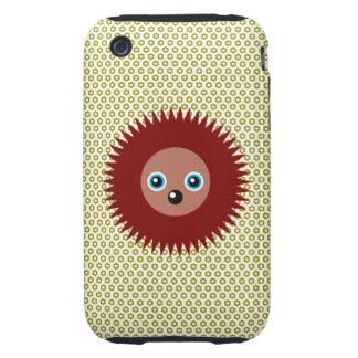 Cute little hedgehog iPhone 3 tough case