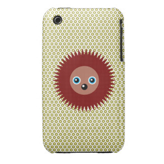 Cute little hedgehog Case-Mate iPhone 3 case