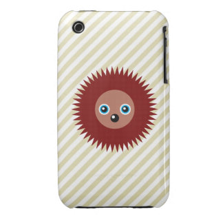 Cute little hedgehog Case-Mate iPhone 3 cases