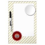 Cute little hedgehog dry erase boards