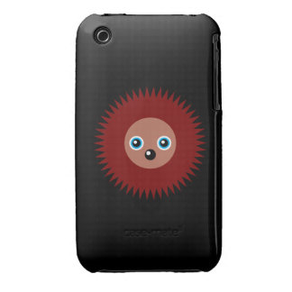 Cute little hedgehog iPhone 3 cover