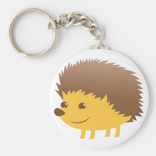 cute little hedgehog key ring