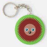 Cute little hedgehog keychains