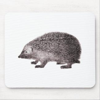Cute Little Hedgehog Mouse Pads