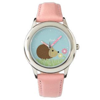 Cute Little Hedgehog Personalized Wristwatch