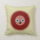 Cute little hedgehog pillow
