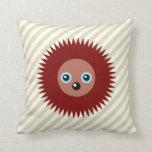 Cute little hedgehog pillows