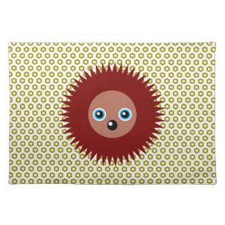 Cute little hedgehog placemat