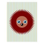 Cute little hedgehog post cards
