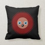 Cute little hedgehog throw pillows
