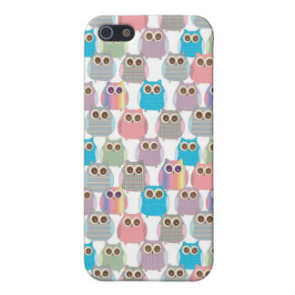 Cute Little Hoot Owls Assorted Colors iPhone 5 Cover