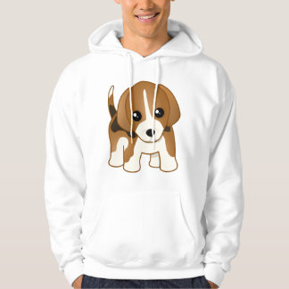 Cute Little Kawaii Beagle Puppy Dog Hoodie