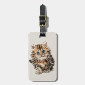 Cute little Kitten Luggage Tag