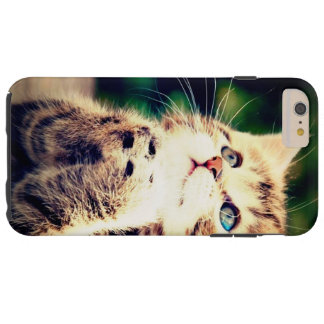Cute little kitten tough iPhone 6 plus case