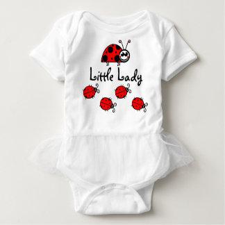 Cute Little lady-bug tutu baby bodysuit
