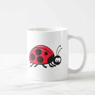 cute little ladybug coffee mug