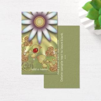 Cute Little Ladybug Gardening Business Card